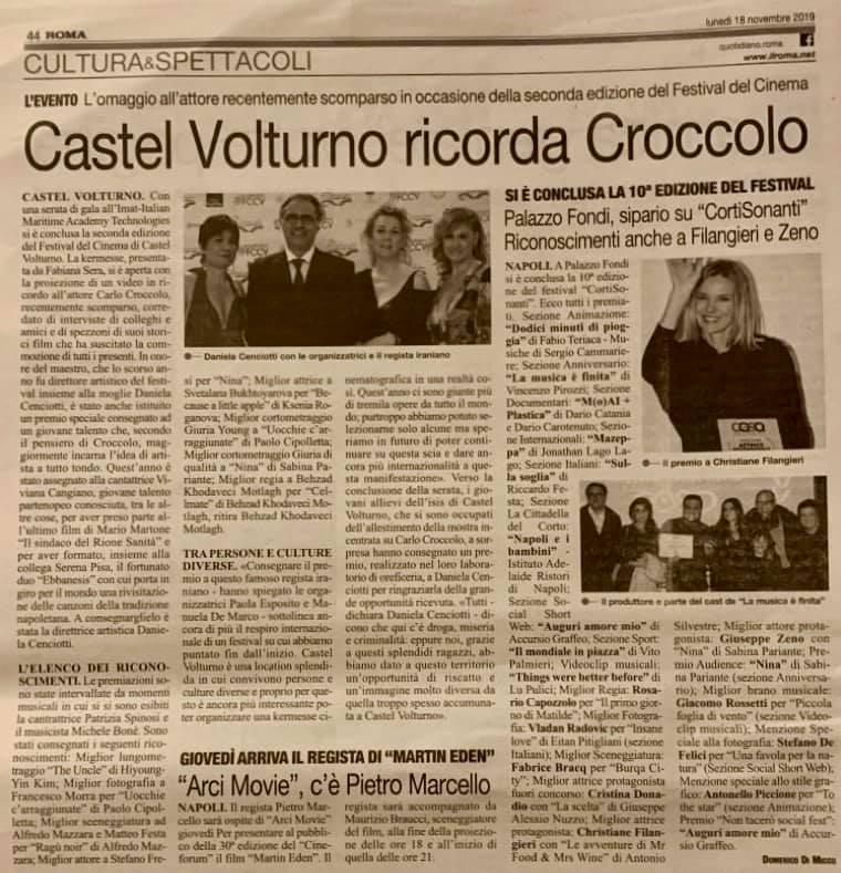 articolo roma